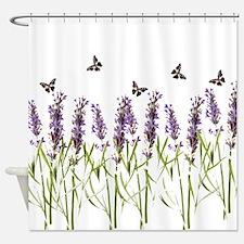Unique Purple butterflies Shower Curtain