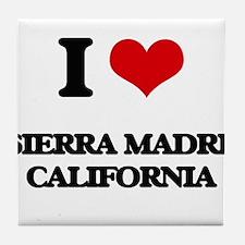 I love Sierra Madre California Tile Coaster