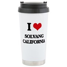 I love Solvang Californ Travel Mug