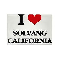 I love Solvang California Magnets