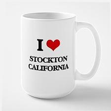 I love Stockton California Mugs