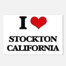 I love Stockton Californi Postcards (Package of 8)