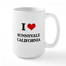 I love Sunnyvale California Mugs
