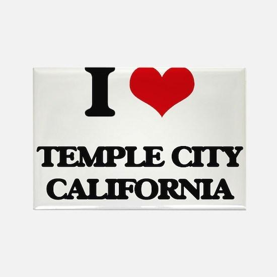 I love Temple City California Magnets
