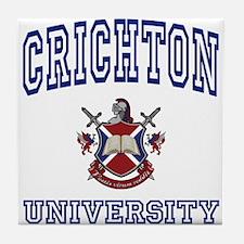 CRICHTON University Tile Coaster