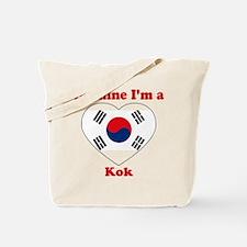 Kok, Valentine's Day Tote Bag