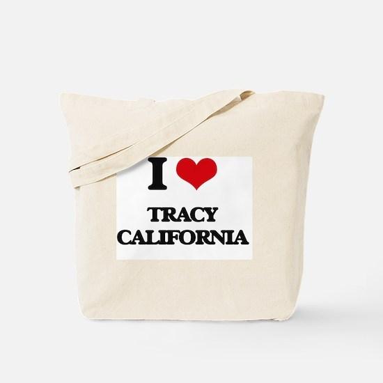I love Tracy California Tote Bag