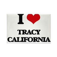 I love Tracy California Magnets