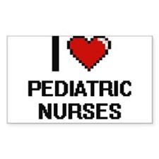 I love Pediatric Nurses Decal