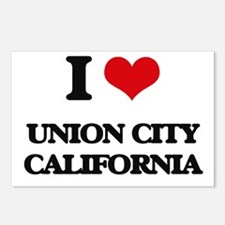 I love Union City Califor Postcards (Package of 8)