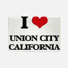 I love Union City California Magnets