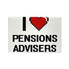 I love Pensions Advisers Magnets
