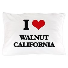 I love Walnut California Pillow Case