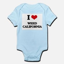 I love Weed California Body Suit