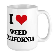 I love Weed California Mugs