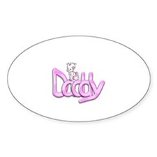 Daddy Pink Decal