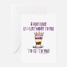 Un-Birthday Greeting Cards (Pk of 20)