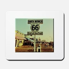 Route 66 End of Trail Mousepad
