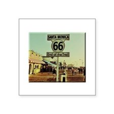 Route 66 End of Trail Sticker