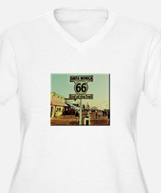 Route 66 End of Trail Plus Size T-Shirt