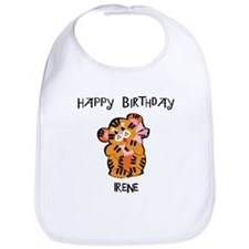 Happy Birthday Irene (tiger) Bib
