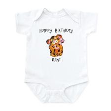Happy Birthday Irene (tiger) Infant Bodysuit