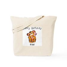 Happy Birthday Irene (tiger) Tote Bag