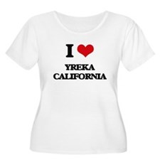 I love Yreka California Plus Size T-Shirt