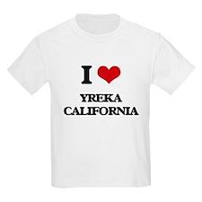 I love Yreka California T-Shirt