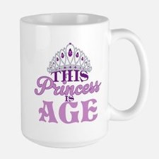 Birthday Princess Large Mug