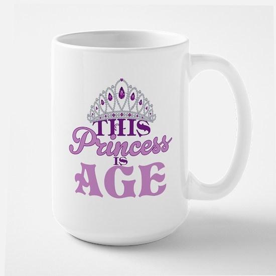 Birthday Princess Large Mug