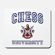 CHESS University Mousepad