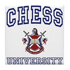 CHESS University Tile Coaster