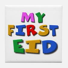 My first Eid Tile Coaster