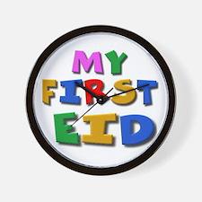 My first Eid Wall Clock