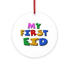 My first Eid Ornament (Round)