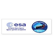 ESA's IXV Logo Bumper Sticker
