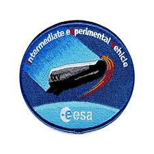 """ESA's IXV Logo 3.5"""" Button"""