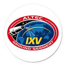 ALTEC's Ground Segment Logo Round Car Magnet