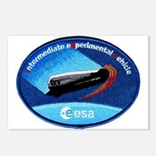 ESA's IXV Logo Postcards (Package of 8)