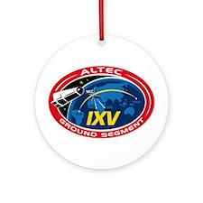 ALTEC's Ground Segment Logo Ornament (Round)