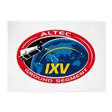 ALTEC's Ground Segment Logo 5'x7'Area Rug