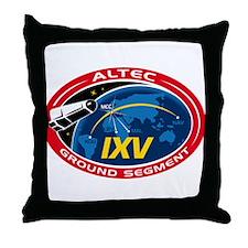 ALTEC's Ground Segment Logo Throw Pillow