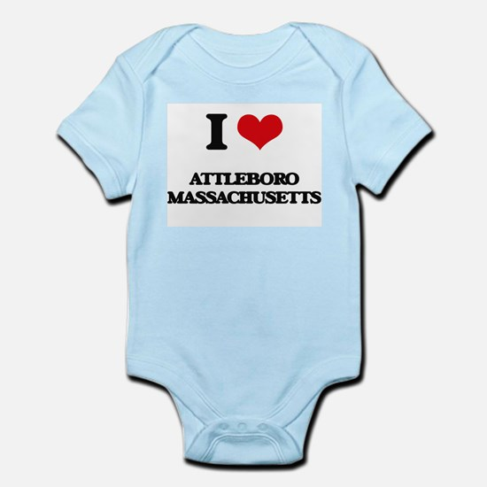 I love Attleboro Massachusetts Body Suit