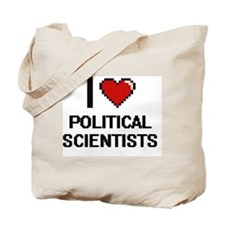 I love Political Scientists Tote Bag