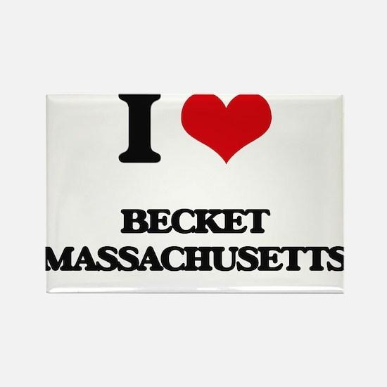 I love Becket Massachusetts Magnets
