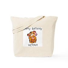 Happy Birthday Victoria (tige Tote Bag