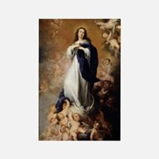 Immaculate Conception by Murillo Rectangle Magnet