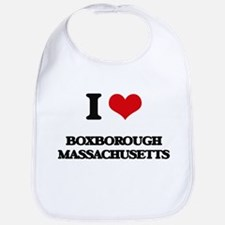 I love Boxborough Massachusetts Bib