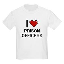 I love Prison Officers T-Shirt